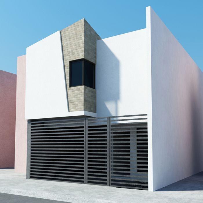 ideas para fachadas de casas modernas