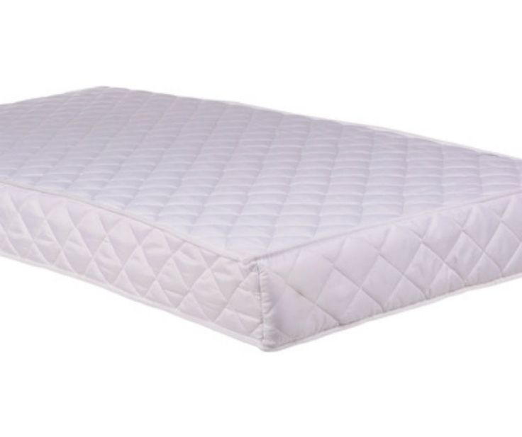 Cot Bed Spring Mattress With Breathable Foam 2 Sizes Available