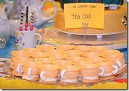 mad hatter tea party food idea