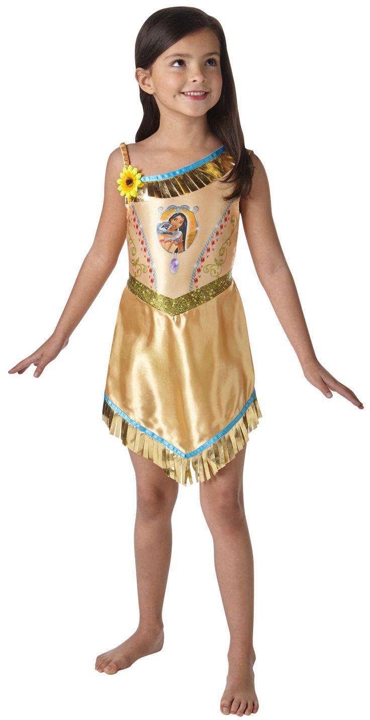 Fairytale pocahontas girls costume girl s world book day fancy dress
