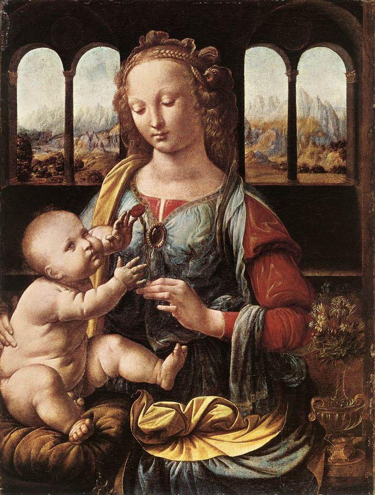 Παναγία με γαρύφαλλο (1478-80)