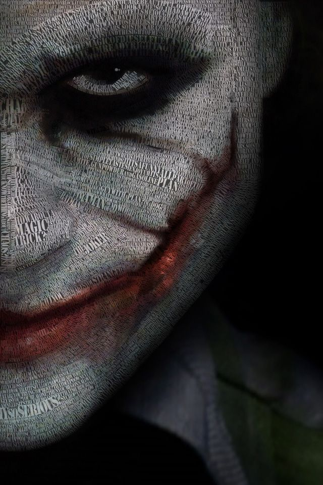 Joker Wallpaper. #joker #batman #iphone #wallpaper