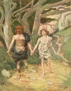 Caim e Abel - Gênesis. Este teria sido o primeiro homicídio da história da humanidade. Caim e o seu irmão mais novo Abel apresentaram ofertas a Deus. Caim apresentou frutos do solo, do seu trabalho braçal mais pesado, e Abel ofereceu Uma ovelha, a que mais amava. A oferta de Abel teria agradado a Deus, enquanto que a de Caim não.... Possuído por ciúmes, Caim armou uma emboscada para seu irmão. Sugeriu a Abel que ambos fossem ao campo e, lá chegando, Caim matou seu irmão.