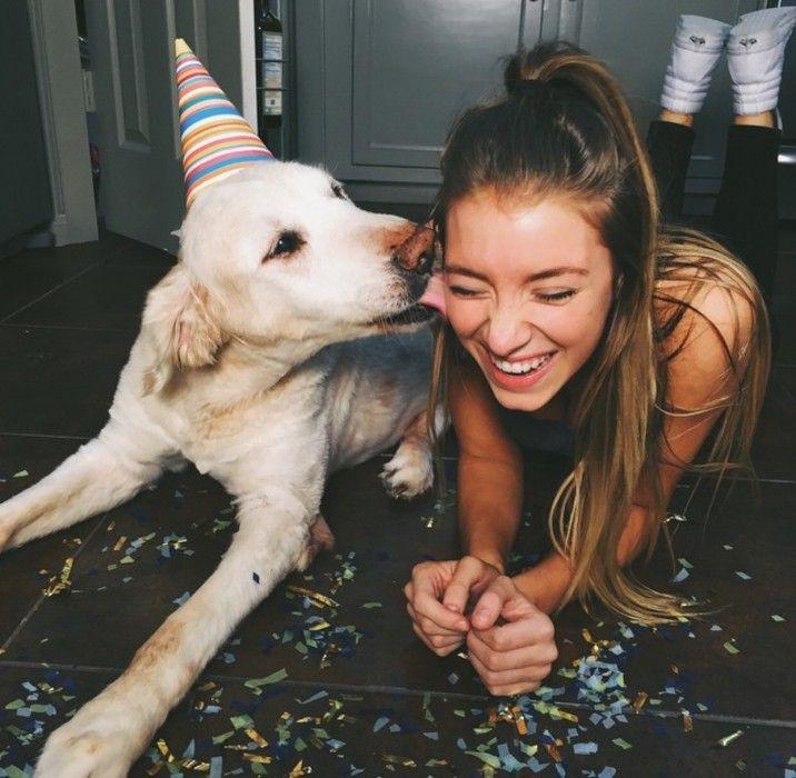festejando el cumpleaños del perro