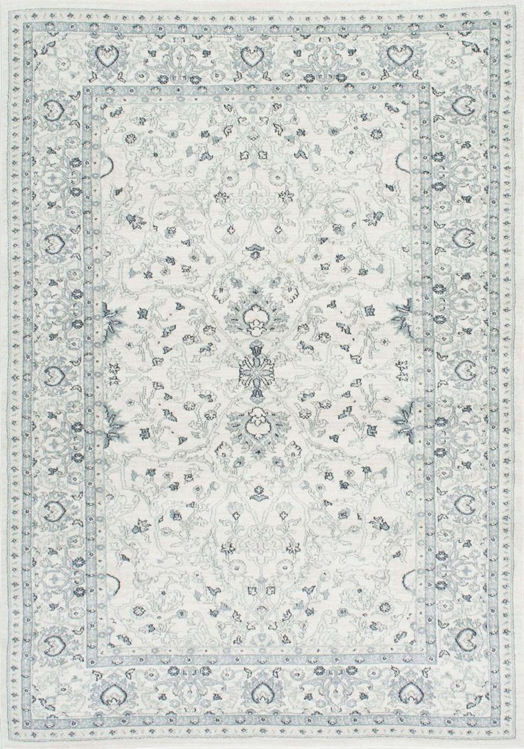 Machine made out of 100% polypropylene, this delicate Persian rug is a wonderful addition to any room. Enhance your vintage décor and get complimented for your style when you lay down this plush area rug.