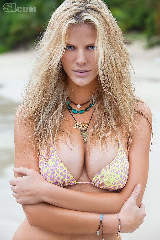 手机壳定制free   black and gray Brooklyn Decker  Sports Illustrated Swimsuit