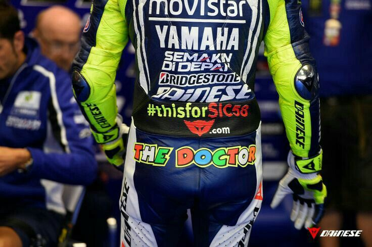 Vale, Pict from Dainese