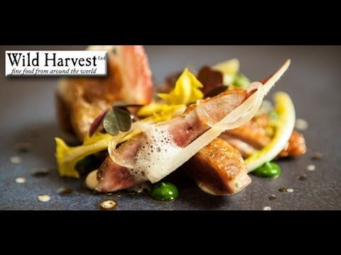 Michelin Starred chef Marcus Eaves: Cooks quail salad & rapsberry and coconut dessert recipes - YouTube