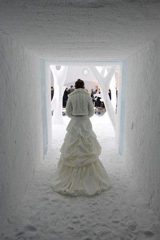 autumn/winter wedding