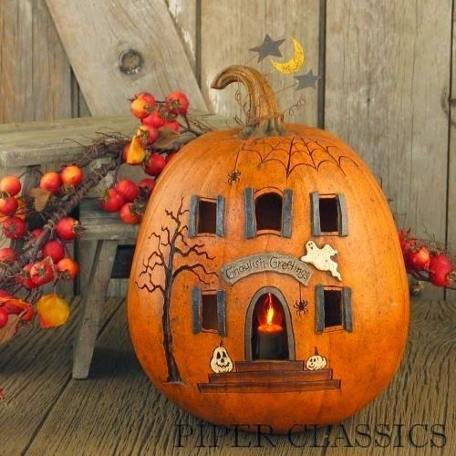 25 Ideas para decorar una calabaza de Halloween                                                                                                                                                                                 Más