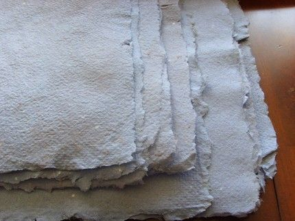 How to make homemade paper....REALLY neat! You can make your own swirl patterns, stripes, etc.!!