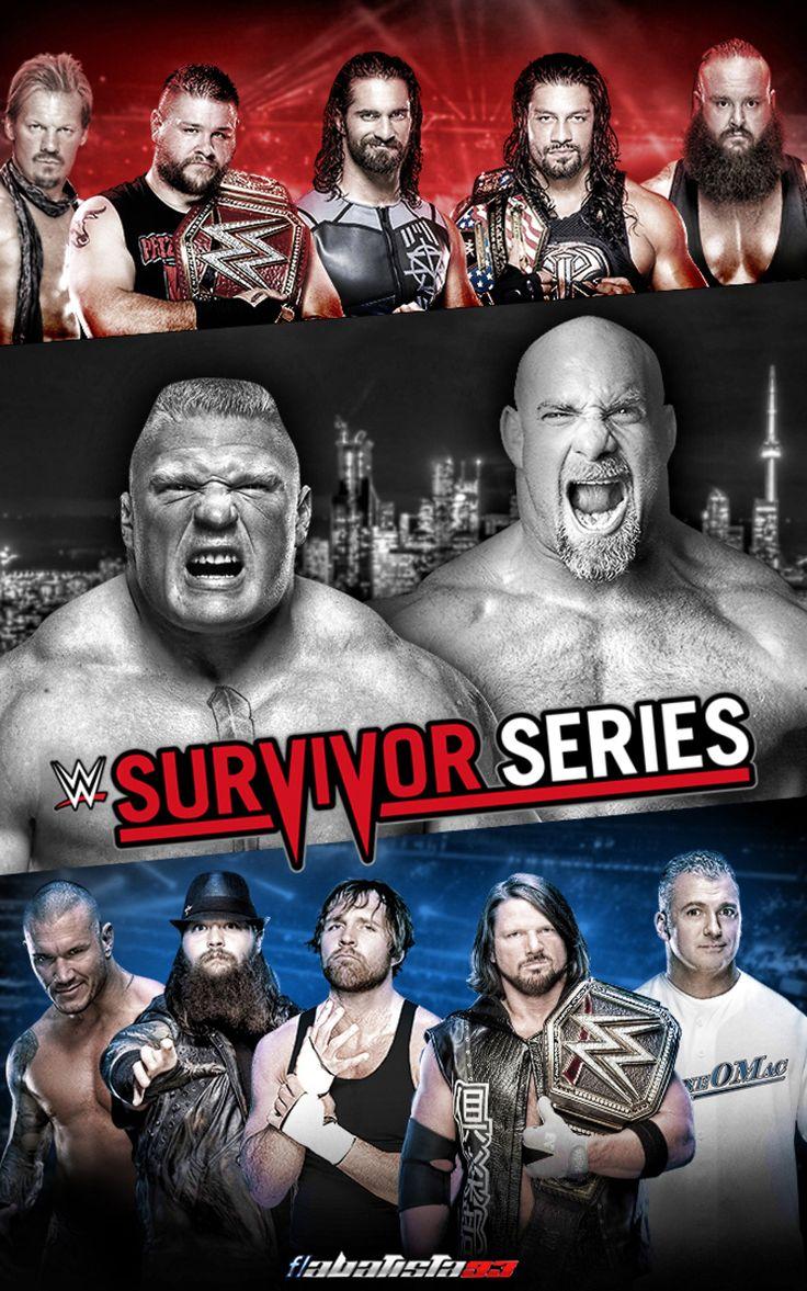 WWE Survivor Series 2016 poster by ABatista93 by AhmedBatista1993 on @DeviantArt