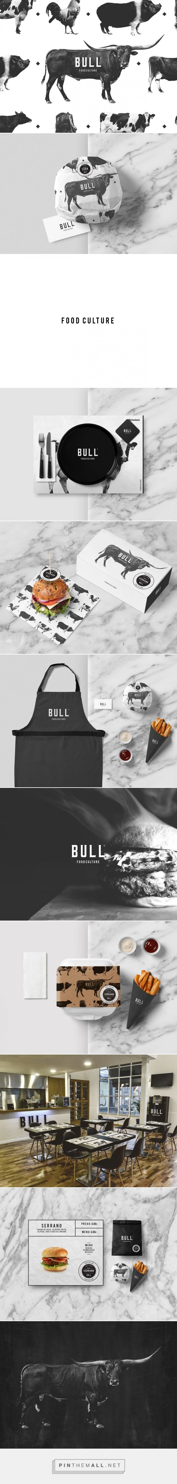 BULL - Food Culture packaging design by BULLSEYE (Portugal) - http://www.packagingoftheworld.com/2016/07/bull-food-culture.html
