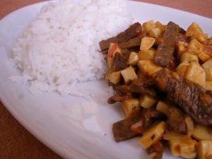 """bambusová kráva - recept na jídlo z vegetariánského """"hovězího"""" masa"""