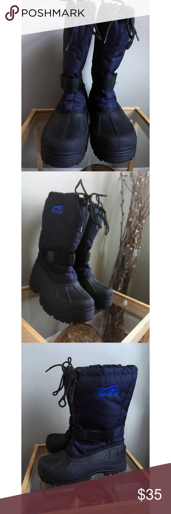 NWOB Snow Boots These are brand new!! If you deal with regular snow where you live you'll understand how important heavy duty boots are! They're lined, waterproof, and in perfect condition. Only ever tried on. Reasonable offers considered! Shoes Winter & Rain Boots