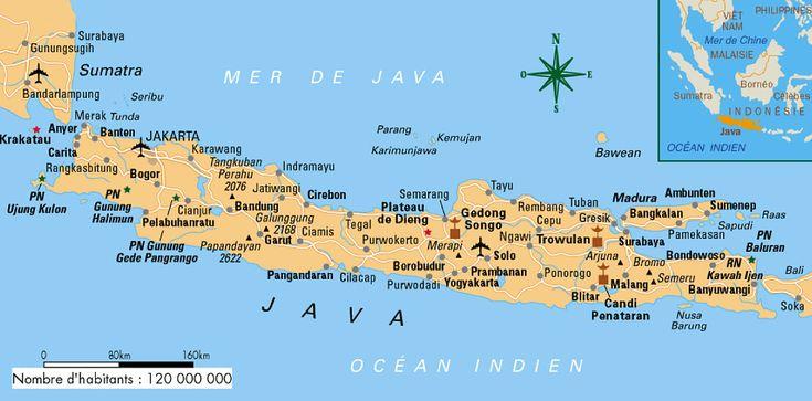 The island of Java Indonesia