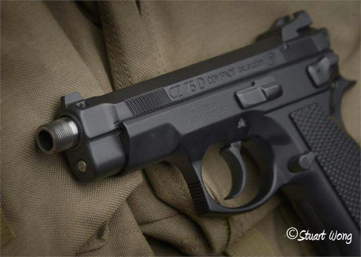Suppressor Ready CZ 75 Compact Threaded 9mm Barrel Fits P01, PCR, Compact 75. (NOT FOR P07) - YES, MINE !
