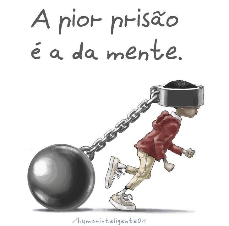 livre-se da prisão da mente