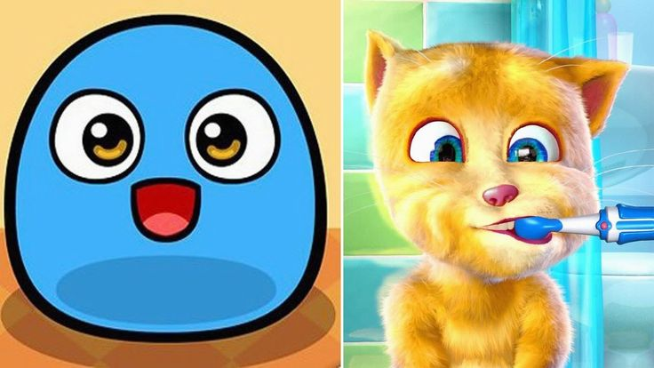 My Boo Your Virtual Pet Game vs My Talking Ginger 2