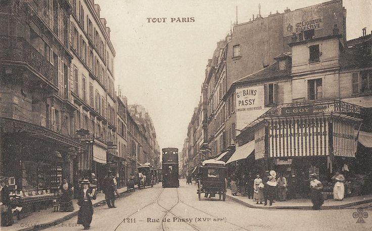 1299 best vintage paris photos posters images on - La poste passy ...