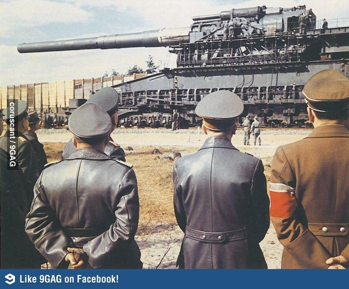 Rail gun from ww2 - jr