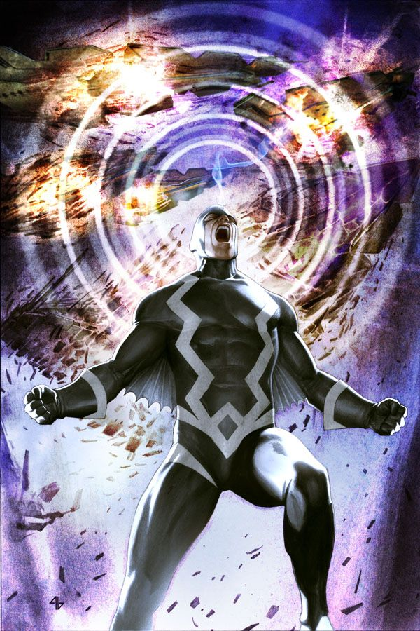 Black Bolt by Adi Granov