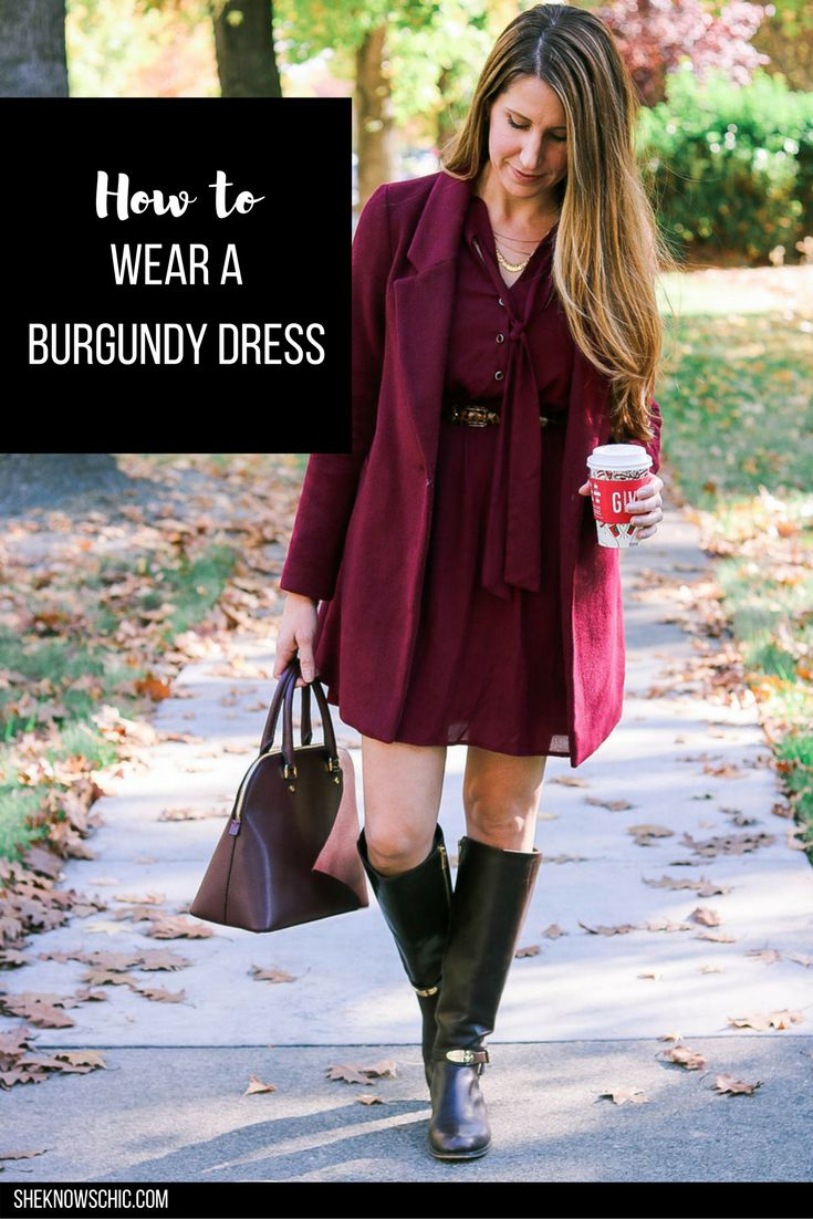 Lately, I've been loving the monochromatic look! This burgundy color is so pretty for the cooler weather, and judging by the number of pieces I own this color, it's one of my favorites. This burgundy dress is an oldie but goodie purchased from Forever 21 a few years back. I've held on to it so …