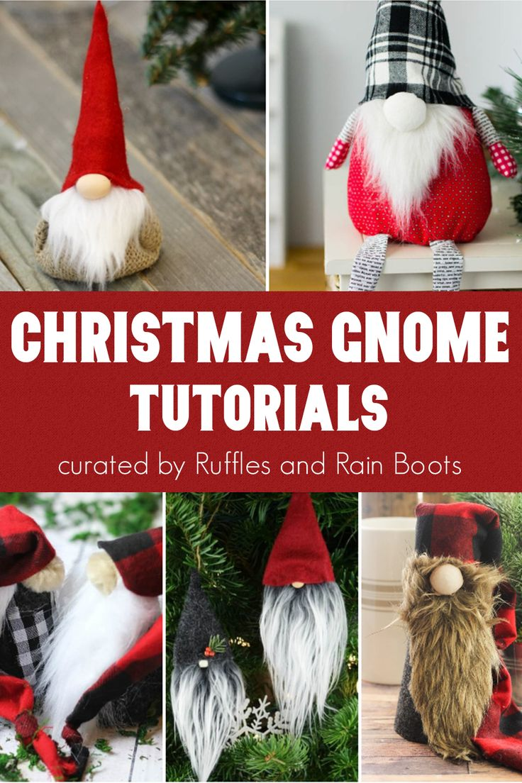 Ultimate List of Christmas Gnome Tutorials Christmas