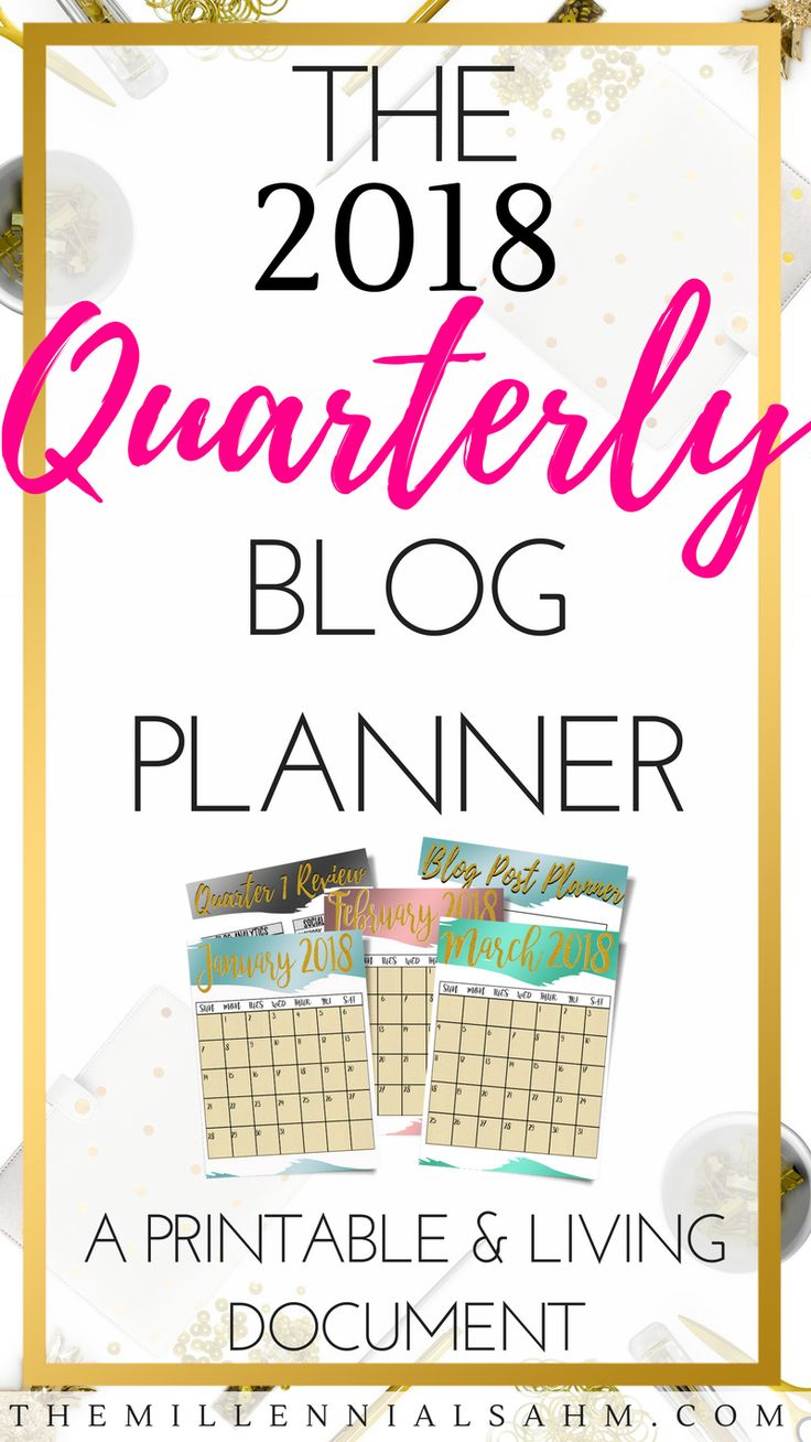 Set Your Blog Up For Success In 2018 With The Only Planner That Gives You The Option To Plan Directly From Your Laptop. Blogging For Beginners, How To Blog, Productivity, Blog Planning, Content Planning, Blogging Tips and Tricks