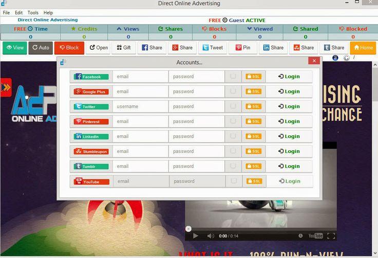 Download free ubots: FREE - Real Traffic - Social - Click Exchange