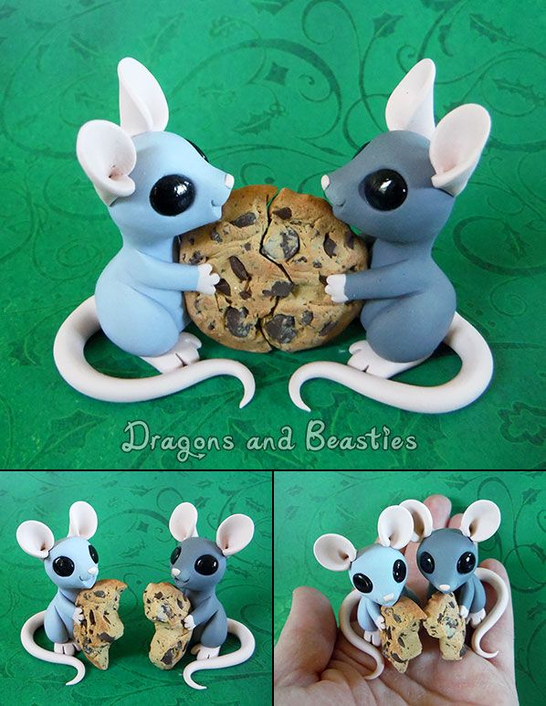 Sculptober: Best Friends by DragonsAndBeasties on deviantART