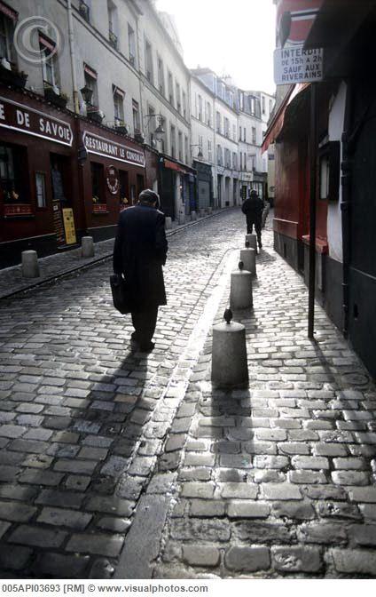 cobblestones dans le vieux Lyon....