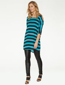 Sabine Easy Stripe Long Top product photo