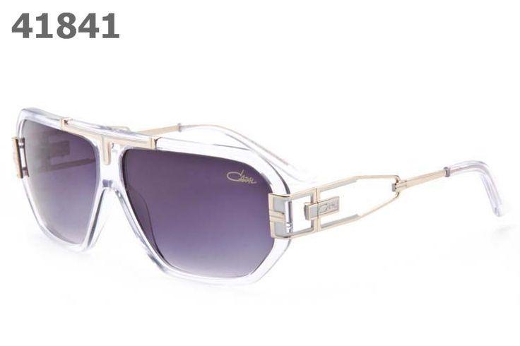 Cazal Unisex Retro Sunglasses 881 clear frame purple lens