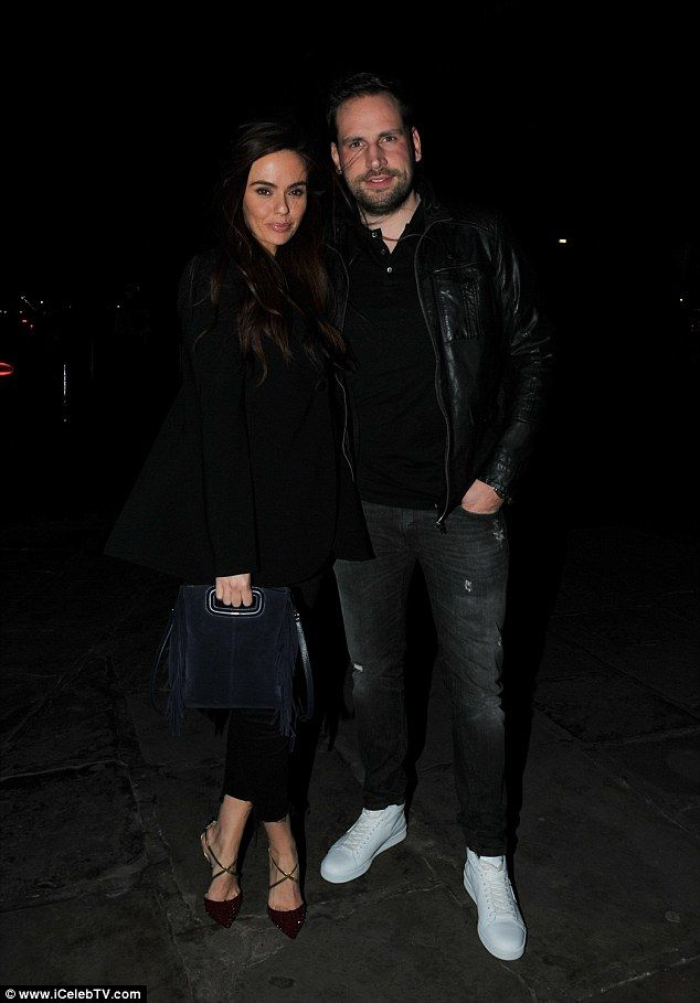 Stepping out: Greg Lake and Jennifer Metcalfe went out for dinner in Liverpool on Friday... after ex-Geordie Shore co-star Gaz Beadle's cringey tweet about the Hollyoaks actress' relationship with Duncan James