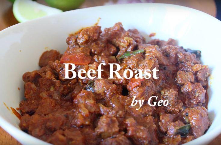 Kerala Style Spicy Beef Roast