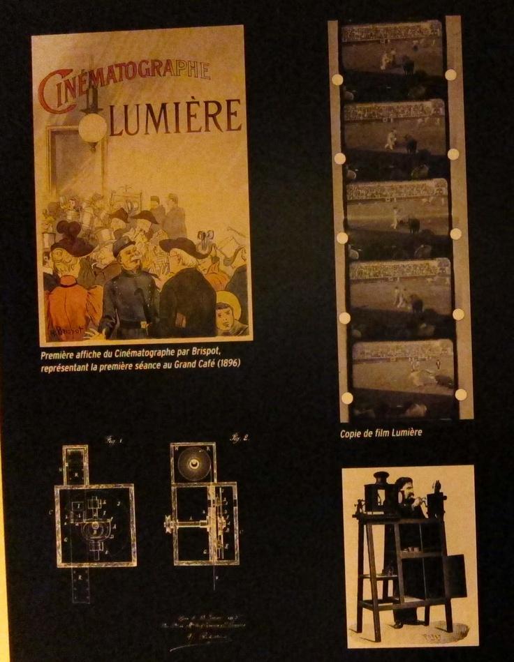 First Lumière screening, 1895