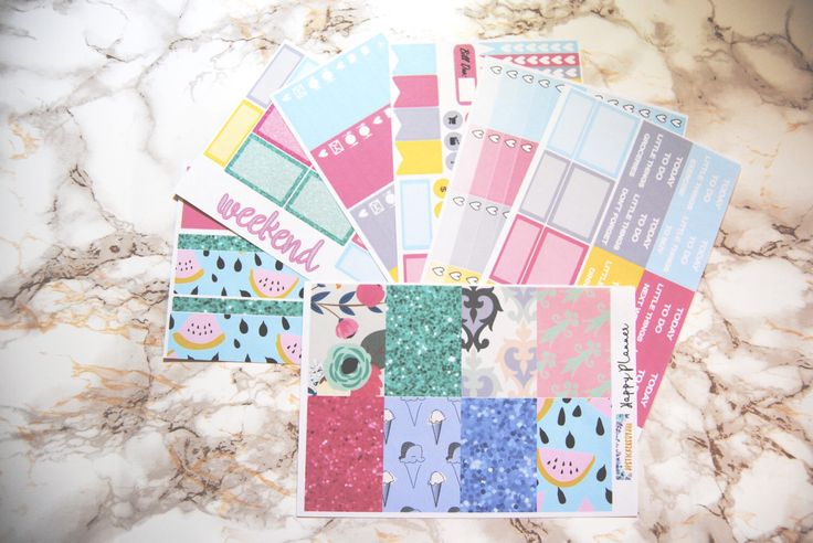 Happy Planner- Summer Picnic - Weekly Kit of Planner Stickers by jpstickersbyjill on Etsy https://www.etsy.com/ca/listing/520312195/happy-planner-summer-picnic-weekly-kit