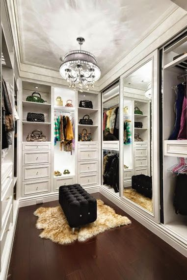 Luxury closet with tons of storage
