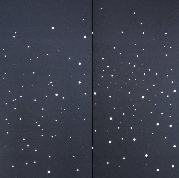 """Panneaux japonais occultants """"Voie lactée"""" - exemple de réalisation - 1"""