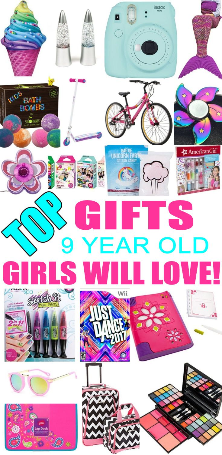 Best Gifts 9 Year Old Girls Will Love Birthday Gifts For