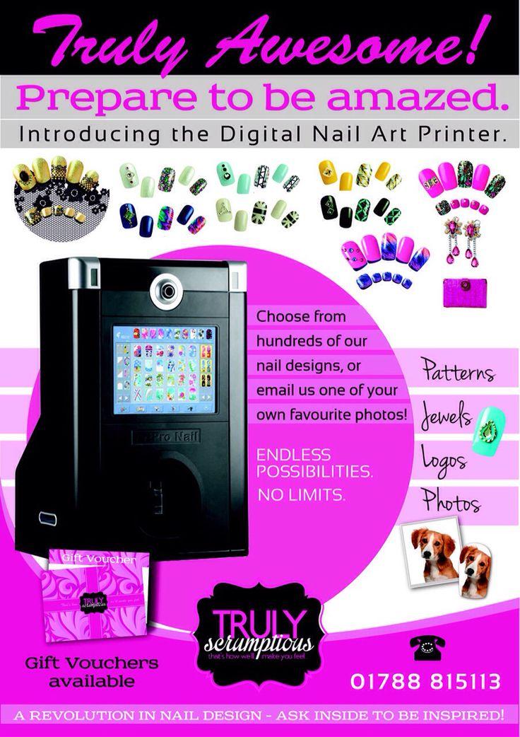 Art pro Nail Digital Nail Printing Machine now at Truly Scrumptious Salons