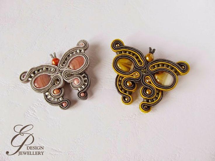 Farfalle soutache