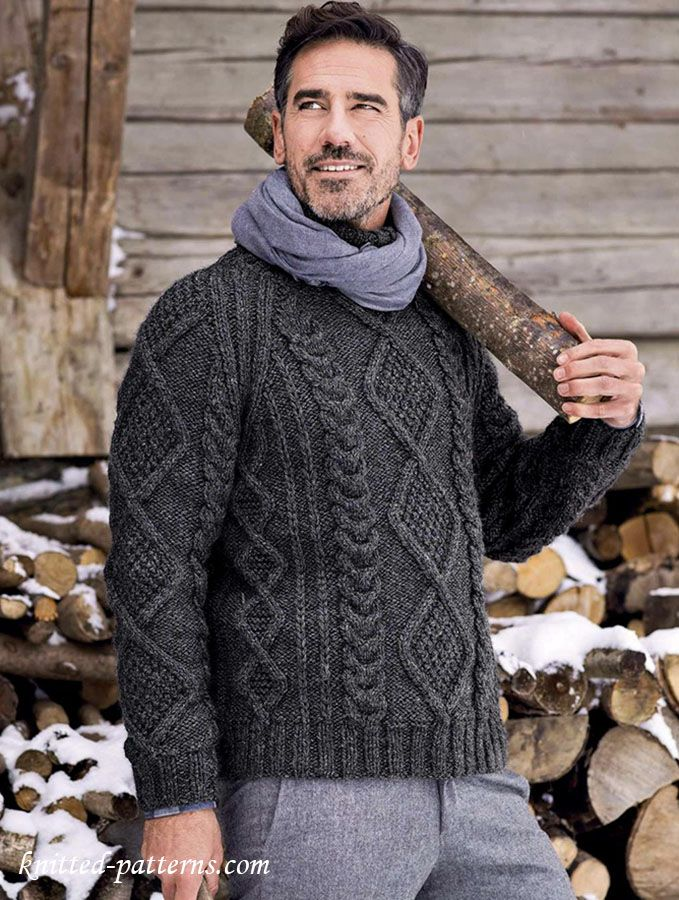 254 Best Sweaters Aran Images On Pinterest Mens Sweaters Knit