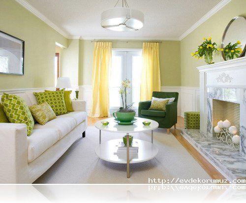 Yellow Greena Lovely LivingRoom