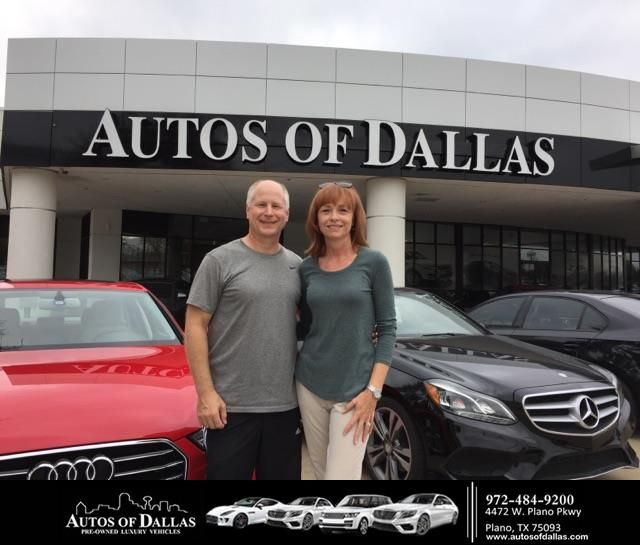 Autos of Dallas Customer Review  I am used to buying only brand new cars, but Bob (Tauber) showed me this gem of a 2016 Audi A6 with only 4000 miles on it. I was hesitant because of a two small blemishes in the paint on the body and left without buying. Bob called me the next day and invited me back. I came in because the car was a steal at the price Autos of Dallas was offering. I was still skeptical because of the blemishes. Bob took control and relieved my anxieties by introducing me and…