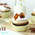 I feel compelled to try these sometime.  Elvis Cupcakes