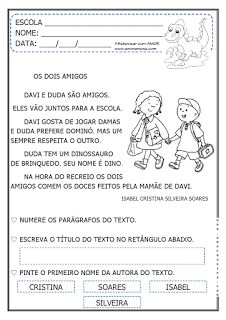 Alfabetizar com AMOR: OS DOIS AMIGOS - DOIS TIPOS DE LETRAS - FAMÍLIA SI...