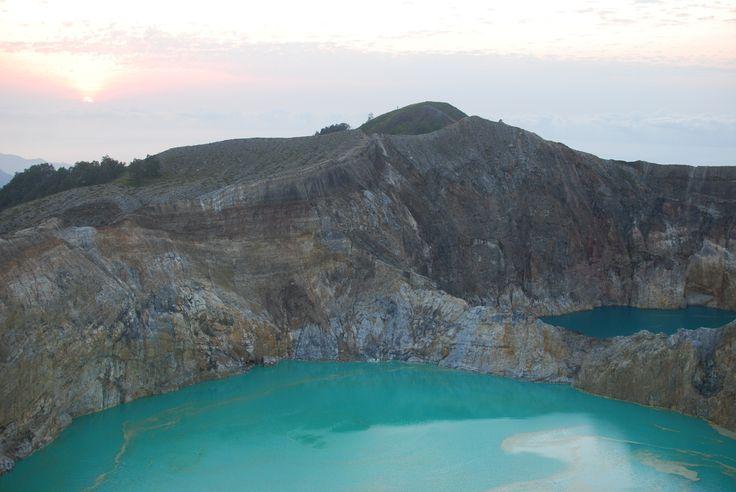 Kelimutu Lake in Ende, Nusa Tenggara Timur, Indonesia