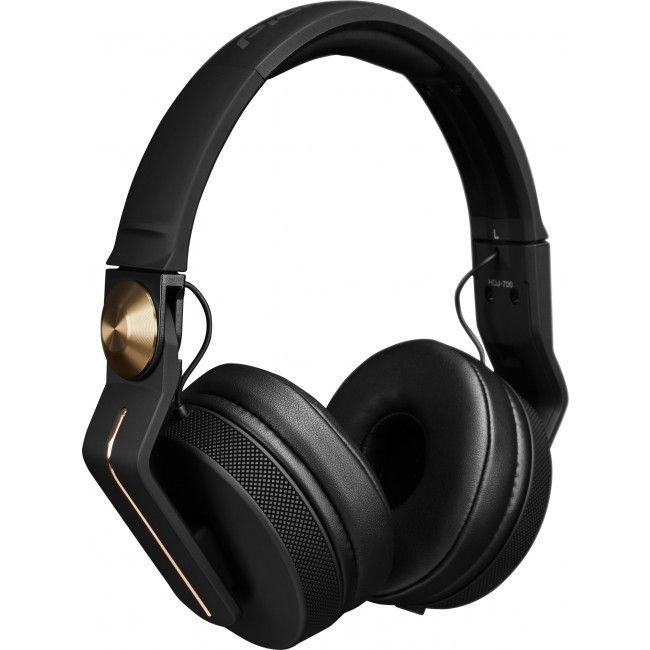 Pioneer DJ HDJ-700-GLD Closed Back DJ Headphones - Gold